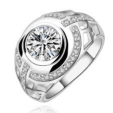 cheap wedding rings for him and sterling silver jewelry silver plated sted 925 small big