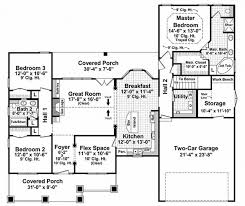 Craftsman Open Floor Plans Craftsman Style House Plan 3 Beds 2 00 Baths 1800 Sqft 21 247