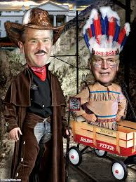 george bush and cheney u0027s wild west ostume party pictures