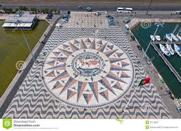 Mosaic District Map Mosaic Map Of The Portuguese Discoveries In Belem Lisbon Portu