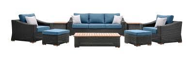 Wicker Patio Lounge Chairs New Boston 8 Pc Patio Set Sofa 2 Chairs U0026ottomans Sides U0026coffee