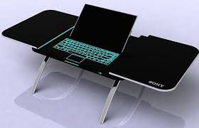 lighted laptop desk tray the 3000 laptop coffee table apartment therapy