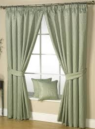 Lined Curtains Bramble Lined Curtains Embroidered Vines Leaves Ready Made Pair