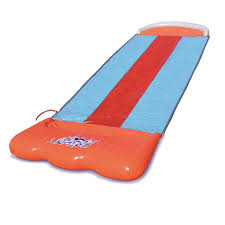 amazon com h2ogo triple water slide w speed ramp toys u0026 games