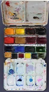 806 best travel palettes images on pinterest art supplies