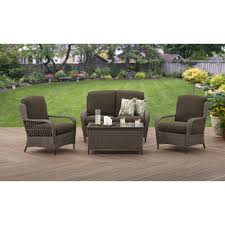 Remove Rust From Outdoor Furniture by Better Homes And Gardens Manaville Wingback 4 Piece Conversation