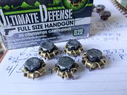 Barnes Tac Xpd 45 Acp Ammo Test Remington Ultimate Defense 9mm 124 Grain Full Size
