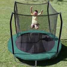 top 7 best outdoor trampolines with enclosure for the kids