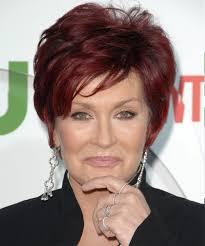 how to get sharon osbournes haircolor sharon osbourne short straight formal hairstyle light red