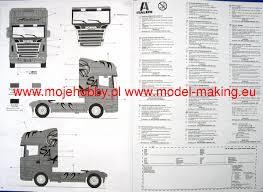 zobic dumper truck trucks for scania r620 atelier italeri 3850