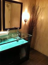 dark wood tile bathroom wall mount chrome metal to towel shelves