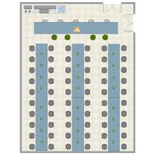 banquet room layout