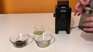 Delonghi Coffee Grinder Kg89 Delonghi Kg79 Modified For Best Espresso Coffee Youtube
