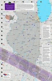 Map Of Illinois With Cities Illinois Eclipse U2014 Total Solar Eclipse Of Aug 21 2017