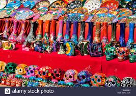 sugar skulls for sale traditional brightly coloured mexican ceramics including sugar
