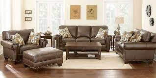 Living Room Leather Furniture Terrific Living Room Leather Furniture Best Brown All Costco