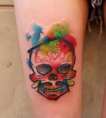 10 best color tattoos images on arm tattoos color