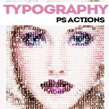 typography portrait tutorial photoshop elements typography portrait photoshop actions and tutorials psddude