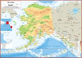 Alaska Map With Cities And Towns by Alaska Maps My Blog