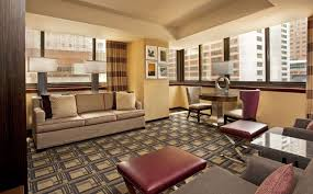 One Bedroom by Sheraton New York Times Square One Bedroom Parlor Suite