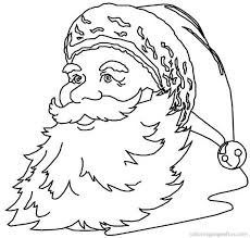 drawing santa claus coloring
