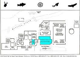 santa museum natural history map
