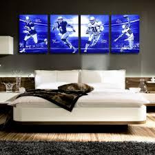 Cowboys Bedroom Set by Ezekiel Elliott Pop Art Poster
