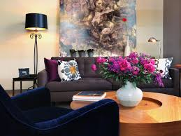 Dark Blue Living Room by 21 Different Style To Decorate Home With Blue Velvet Sofa