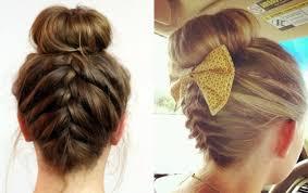 hairstyles using a bun donut easy classy donut bun hairstyles to create neat image hairstyles