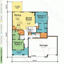 In Law House Plans Apartments New Home Plans New House Plans From Design Basics