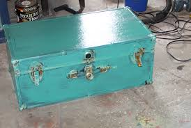 How To Make Furniture Look Rustic by Art Is Beauty How To Make A New Footlocker Look Old And Antique