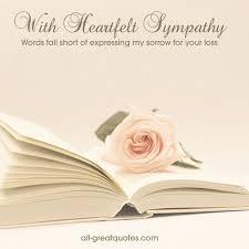 condolences card sympathy condolences cards with heartfelt sympathy