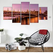 Wall Art For Living Room by Online Get Cheap Paris Paintings Aliexpress Com Alibaba Group