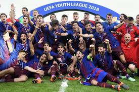 chelsea youth players soccer barcelona beats chelsea 3 0 in uefa youth league final the