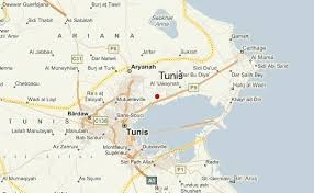 map of tunisia with cities tunis weather forecast