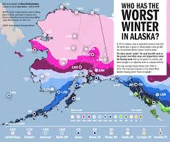 Map Of Juneau Alaska by Infographic Who Has The Worst Winters In Alaska Juneau Empire