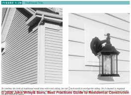 how to install vinyl siding light mounting blocks how to install or repair vinyl siding trim specifications details