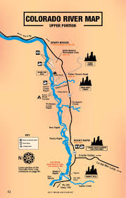 Map Of Moab Utah by Colorado River Map Free Guestguide Travel U0026 Leisure Publications