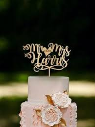 unique wedding cake topper personalized cake toppers weddbook