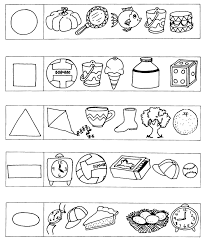 Visual Discrimination Worksheets Gr R Module 3 Numeracy 05