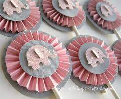 Elephant Decorations Terrific Pink And Gray Elephant Baby Shower Decorations 68 For