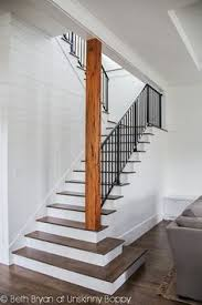 Stairs To Basement Ideas - i like the idea of opening up the bottom of the stairs diy home