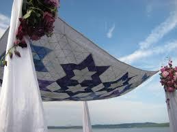 Chuppah Canopy Jewish Wedding Canopy Chuppah Ceremony To Heirloom Generation To