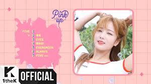 5 up photo album teaser apink 에이핑크 apink 6th mini album pink up rolling