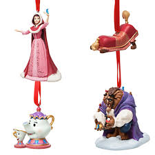 and the beast deluxe sketchbook ornament set out now