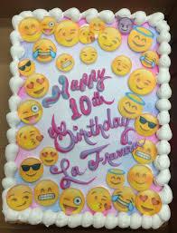 calumet bakery emoji cake girls decorated cakes pinterest