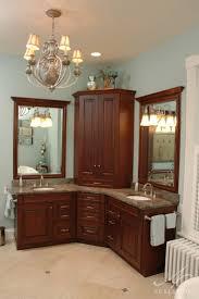 beautiful corner bathroom mirrors cabinets epic and scenic mirror