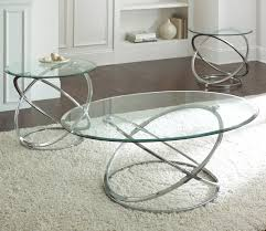 chrome glass end tables chrome cocktail and end tables set with glass top small round coffee