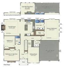 5 room floor plan floor plans u2013 barry andrews homes