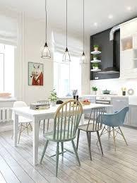 cuisine nordique cuisine scandinave design chaises dacpareillaces dans une cuisine